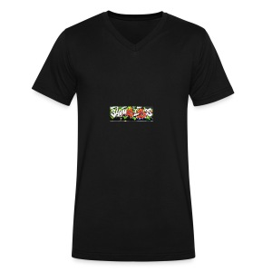 Shameless - Men's V-Neck T-Shirt by Canvas