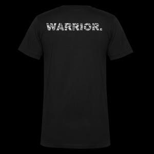 WARRIOR - Men's V-Neck T-Shirt by Canvas