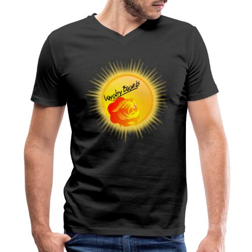 LoyaltyBoardsNewLogo 10000 - Men's V-Neck T-Shirt by Canvas