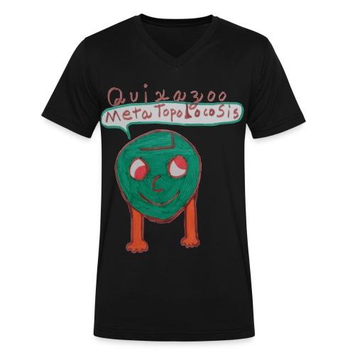 MetaTopolocoSisHead - Men's V-Neck T-Shirt by Canvas