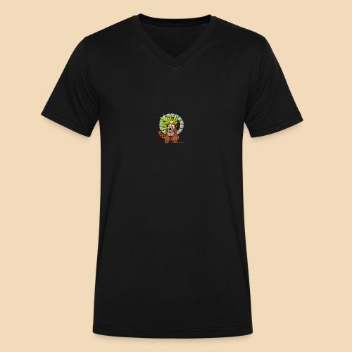 Rockhound reduce size4 - Men's V-Neck T-Shirt by Canvas