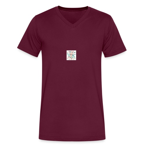 lit - Men's V-Neck T-Shirt by Canvas