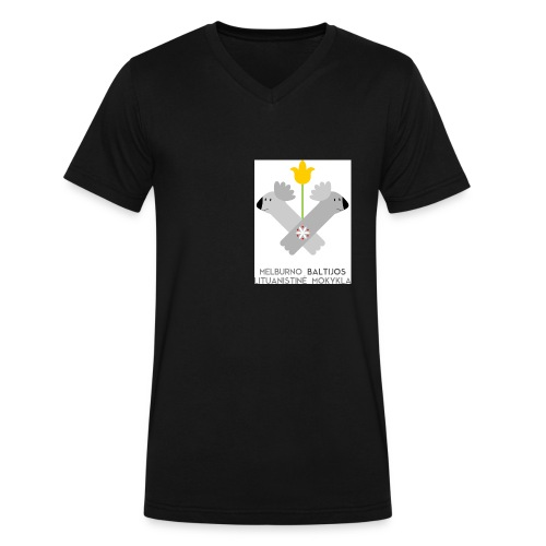 logo for tshirts 3copy - Men's V-Neck T-Shirt by Canvas