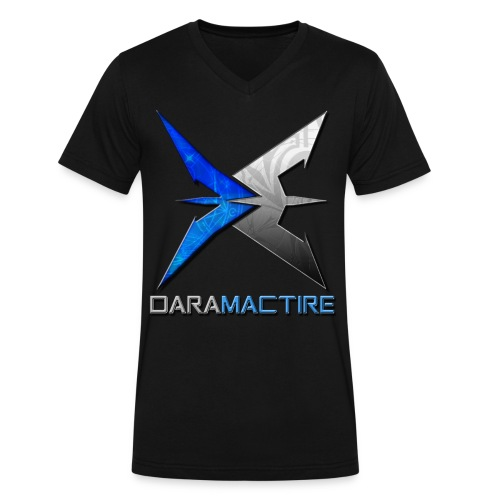 Dara Mactire V-Neck - Men's V-Neck T-Shirt by Canvas