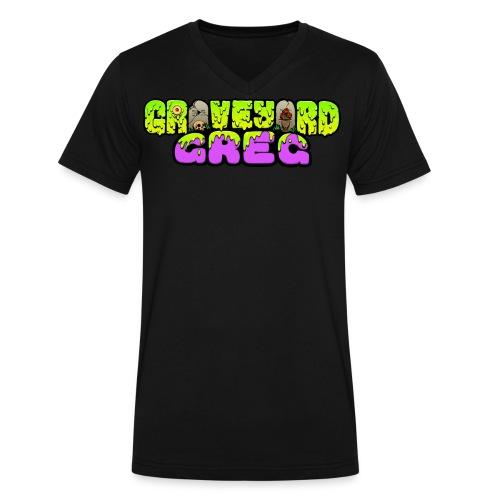 Graveyard Greg Logo! - Men's V-Neck T-Shirt by Canvas