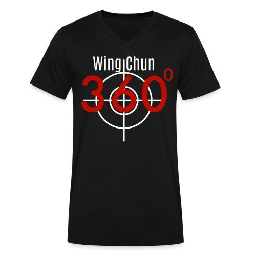 Wing Chun 360 shirt png - Men's V-Neck T-Shirt by Canvas