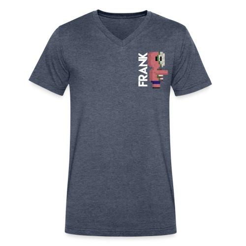 pig, Zombie, pixelart, Zombie pig Minecraft mug. - Men's V-Neck T-Shirt by Canvas