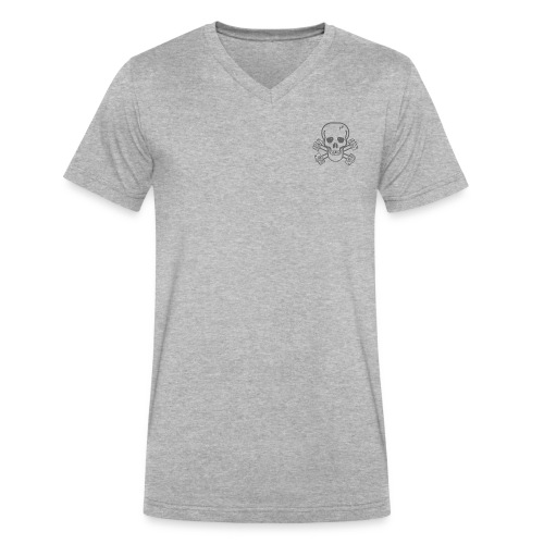 spreadshirtskullcrossbones - Men's V-Neck T-Shirt by Canvas