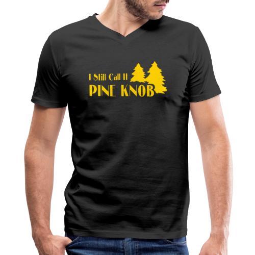 Pine Knob - Men's V-Neck T-Shirt by Canvas