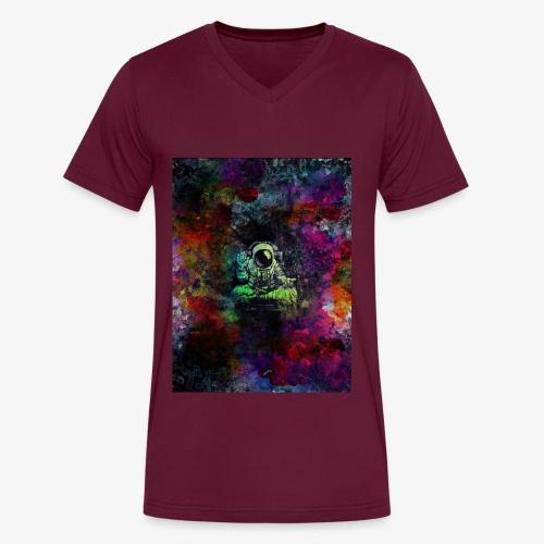Astronaut - Men's V-Neck T-Shirt by Canvas