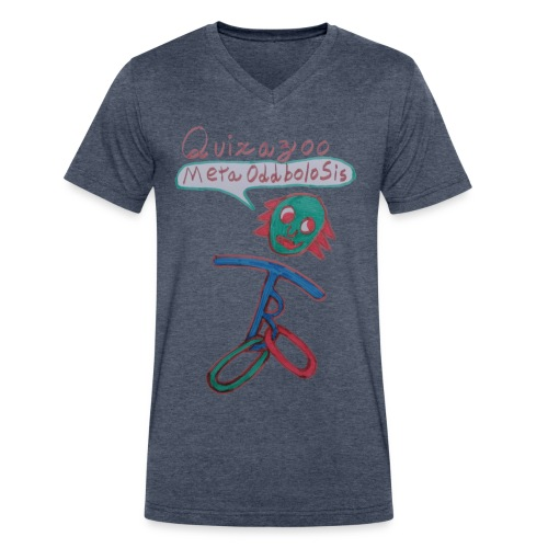 MetaOddboloSisFull - Men's V-Neck T-Shirt by Canvas