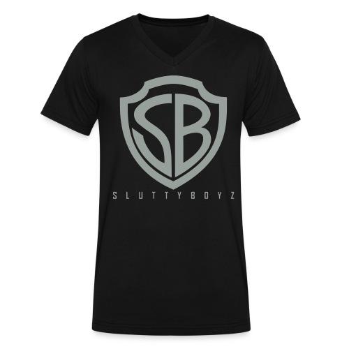 Slutty Boyz - Men's V-Neck T-Shirt by Canvas
