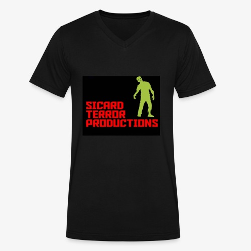 Sicard Terror Productions Merchandise - Men's V-Neck T-Shirt by Canvas