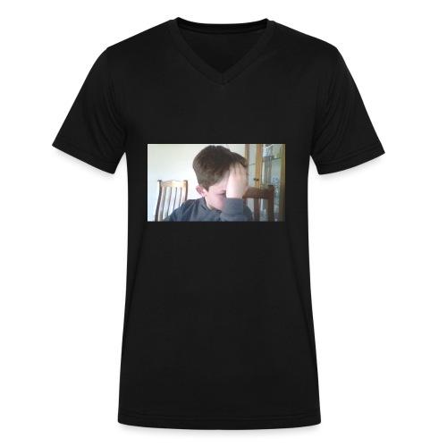Luiz FAce!! - Men's V-Neck T-Shirt by Canvas