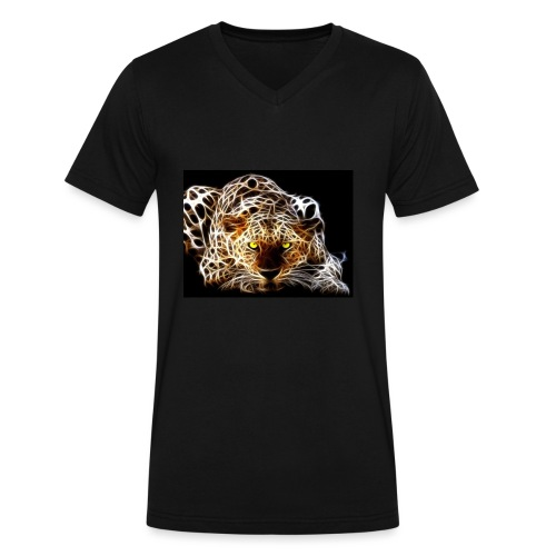 close for people and kids - Men's V-Neck T-Shirt by Canvas