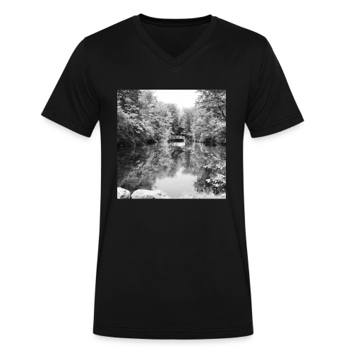 Lone - Men's V-Neck T-Shirt by Canvas
