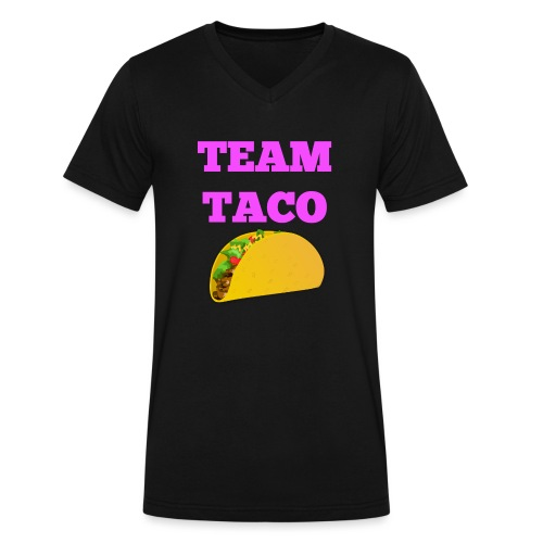 TEAMTACO - Men's V-Neck T-Shirt by Canvas
