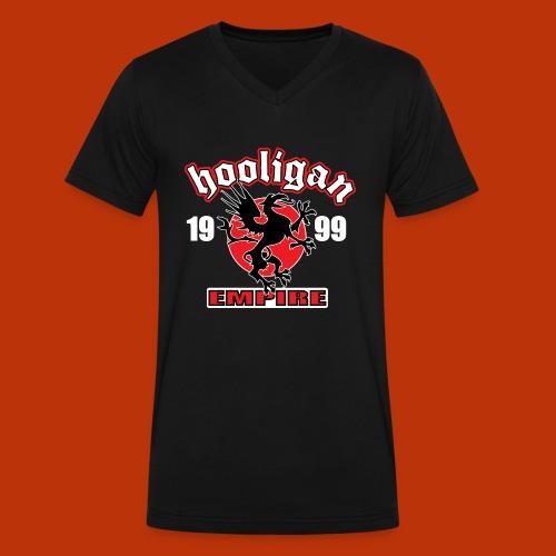 United Hooligan - Men's V-Neck T-Shirt by Canvas