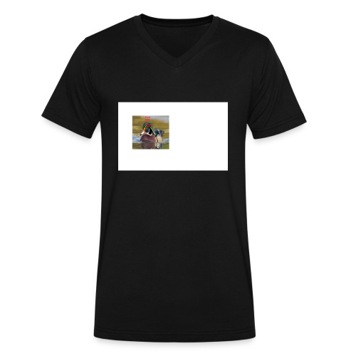 duck_life - Men's V-Neck T-Shirt by Canvas
