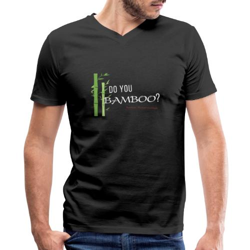 Do you Bamboo? - Men's V-Neck T-Shirt by Canvas
