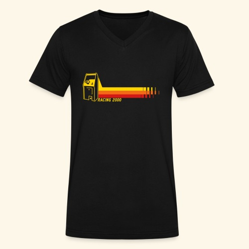 Racing2000 - Men's V-Neck T-Shirt by Canvas