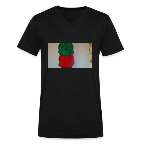 Ice cream t-shirt - Men's V-Neck T-Shirt by Canvas