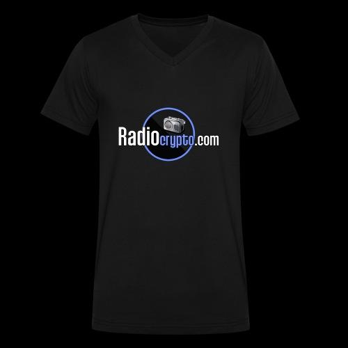 RadioCrypto Logo 1 - Men's V-Neck T-Shirt by Canvas