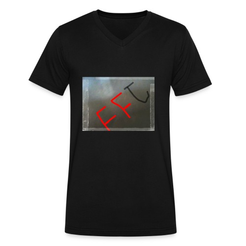 IMG 20180109 151422 953 - Men's V-Neck T-Shirt by Canvas