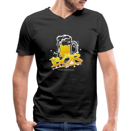 BÖR - Men's V-Neck T-Shirt by Canvas