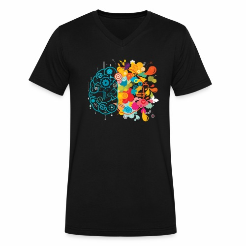 Explosive - Men's V-Neck T-Shirt by Canvas