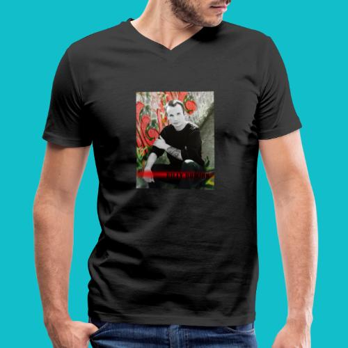 Billy Domion - Men's V-Neck T-Shirt by Canvas