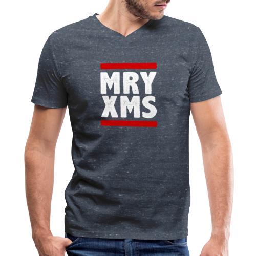 MRY XMS - Men's V-Neck T-Shirt by Canvas
