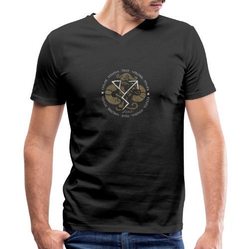 Witness True Sorcery Emblem (Alu, Alu laukaR!) - Men's V-Neck T-Shirt by Canvas