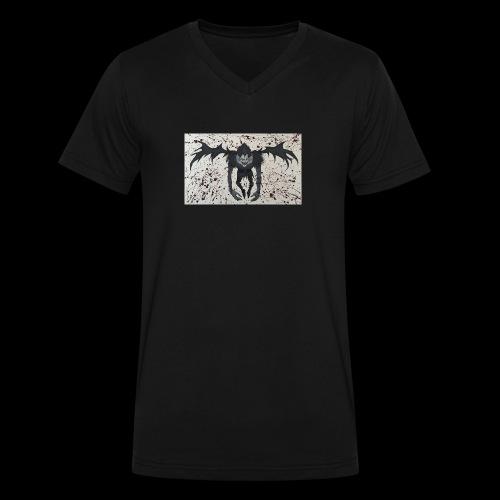 Ryuk - Men's V-Neck T-Shirt by Canvas