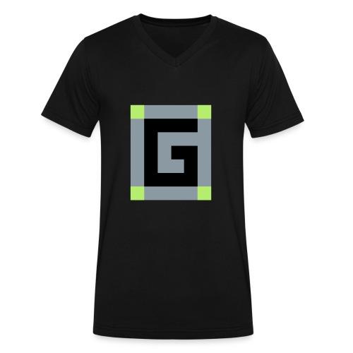 Official G Logo vector Image - Men's V-Neck T-Shirt by Canvas