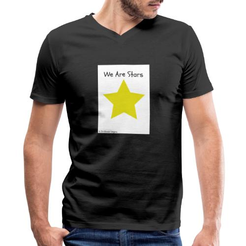 Hi I'm Ronald Seegers Collection-We Are Stars - Men's V-Neck T-Shirt by Canvas