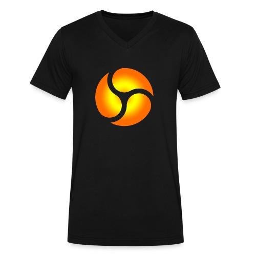 triskele harmony - Men's V-Neck T-Shirt by Canvas
