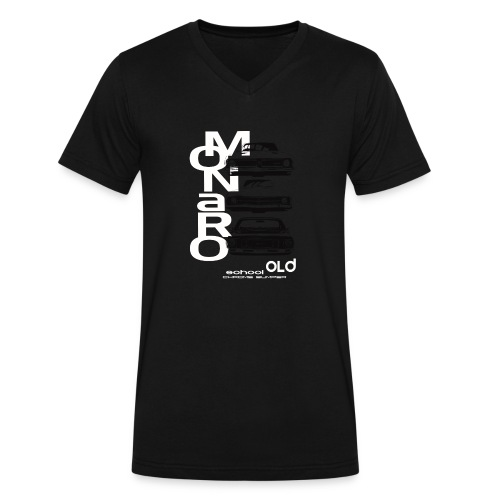 monaro over - Men's V-Neck T-Shirt by Canvas