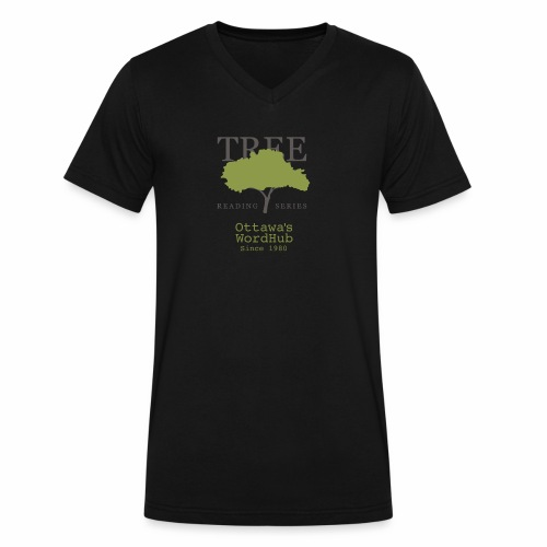 Tree Reading Swag - Men's V-Neck T-Shirt by Canvas