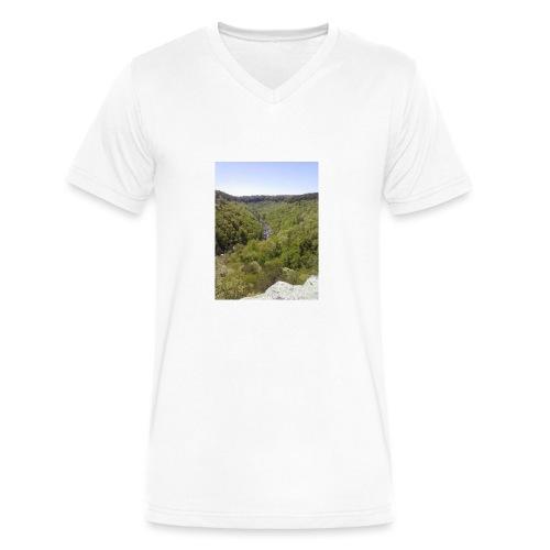 LRC - Men's V-Neck T-Shirt by Canvas