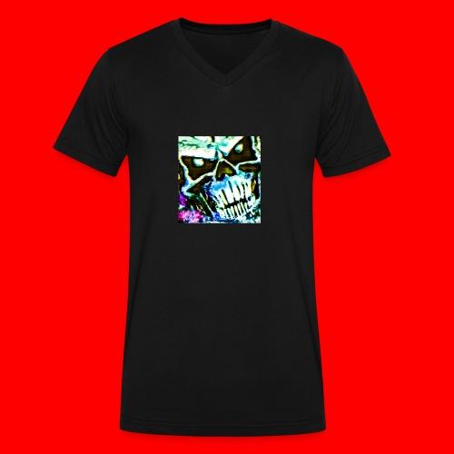 Dead Friend - Men's V-Neck T-Shirt by Canvas