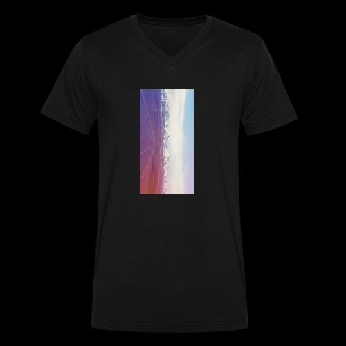 Next STEP - Men's V-Neck T-Shirt by Canvas