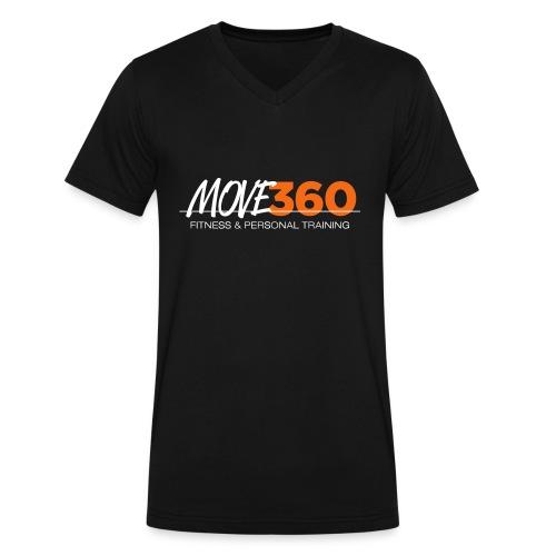 Move360 Logo LightGrey - Men's V-Neck T-Shirt by Canvas