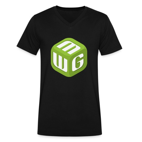 MiniWarGaming T-Shirt (L) Men's Fruit of the Loom - Men's V-Neck T-Shirt by Canvas