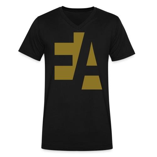 EA - Men's V-Neck T-Shirt by Canvas