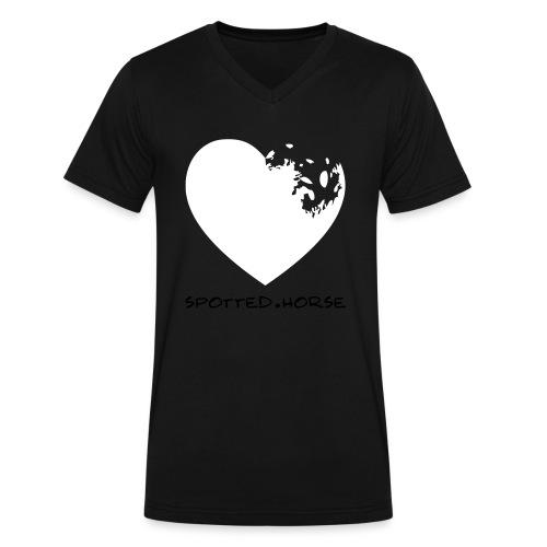 Appaloosa Heart - Men's V-Neck T-Shirt by Canvas