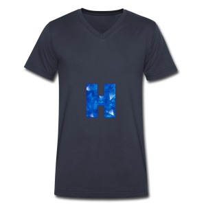 XxHaunter Logo - Men's V-Neck T-Shirt by Canvas