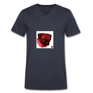 IMG_0027 - Men's V-Neck T-Shirt by Canvas