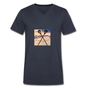 Laudi Laxer - Men's V-Neck T-Shirt by Canvas