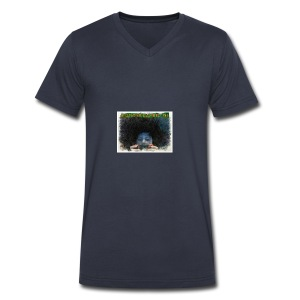 ANIMATED PICTURE - Men's V-Neck T-Shirt by Canvas